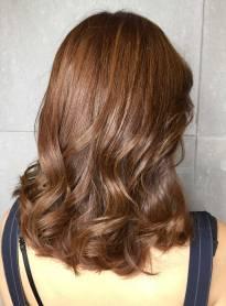 中長髮 染髮