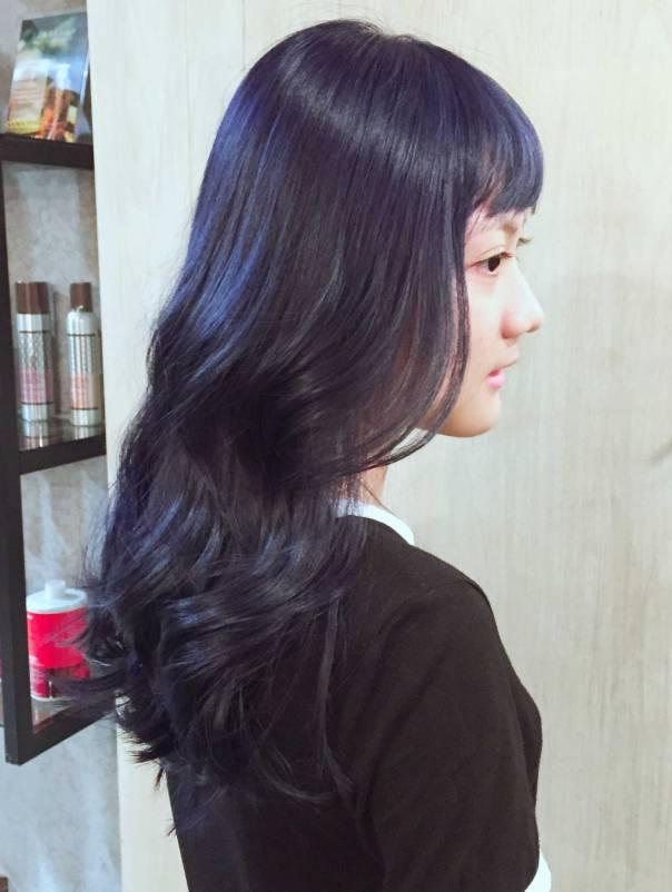 大波浪 捲髮 髮型