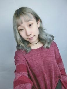 中長髮 染髮 燙髮