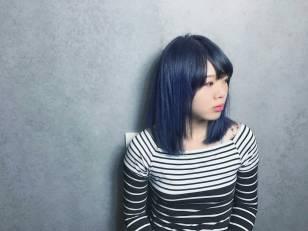 中長髮 染髮 特殊色