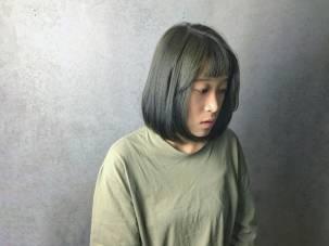 染髮 特殊色 髮型