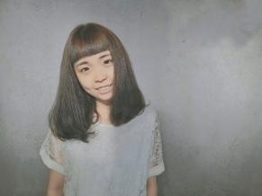 中長髮 髮型 染髮