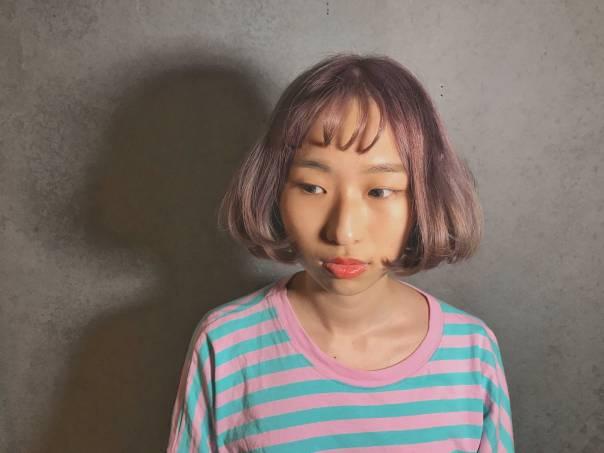 特殊色 染髮 短髮 髮型