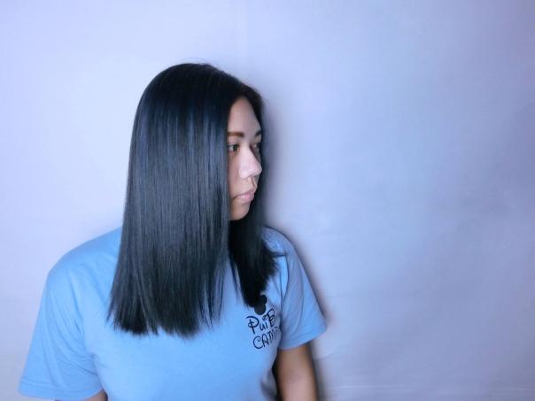 中長髮 特殊色 染髮