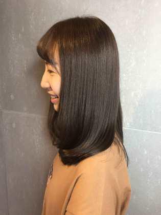 中長髮 髮型